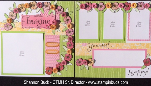 CTMH Stampin' Buds Brushed