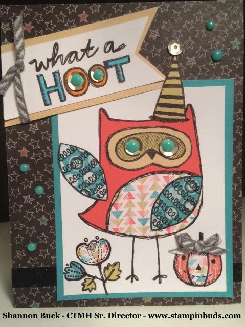 What a Hoot – it's so cute!