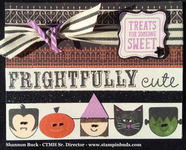Scaredy Cat Handmade Card #2/5