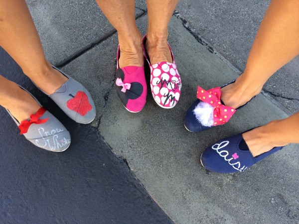 Get your Toms, you'll need them for Disney!