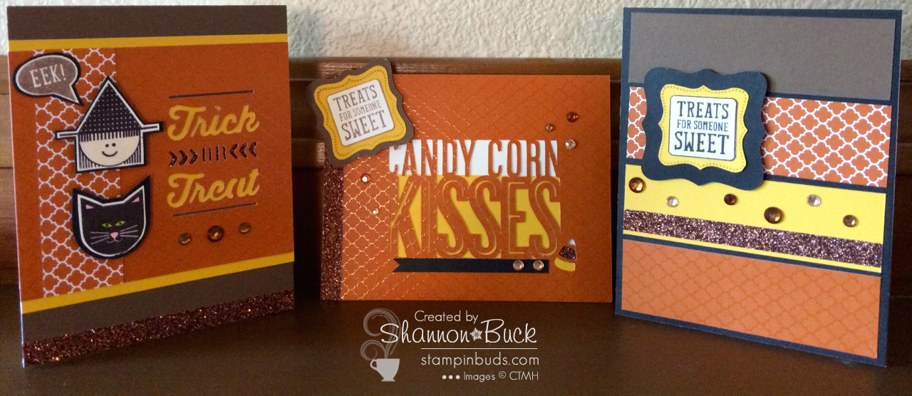 Stampin' Buds Cute Card Club - October 2014