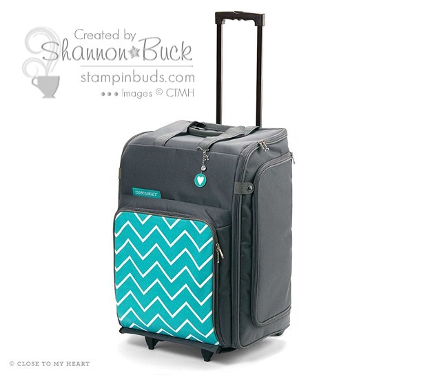 Be a stylish crafter decked out in Chevron!