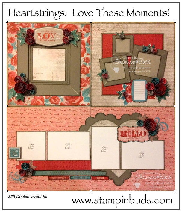 CTMH Heartstrings Stampin' Buds