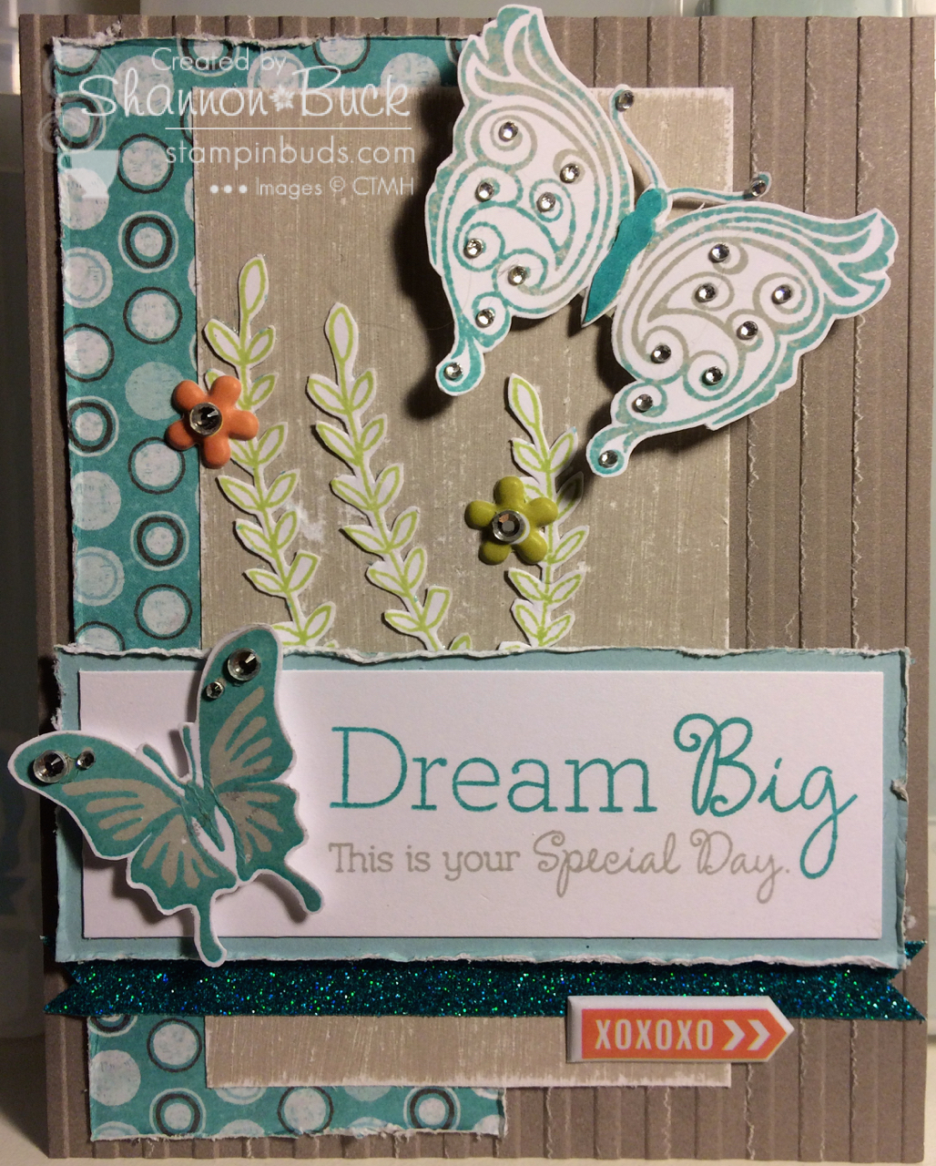 Stampin' Buds Mojo Monday with CTMH
