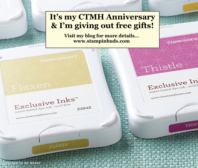 It's my CTMH Anniversary and I'm giving YOU a gift!