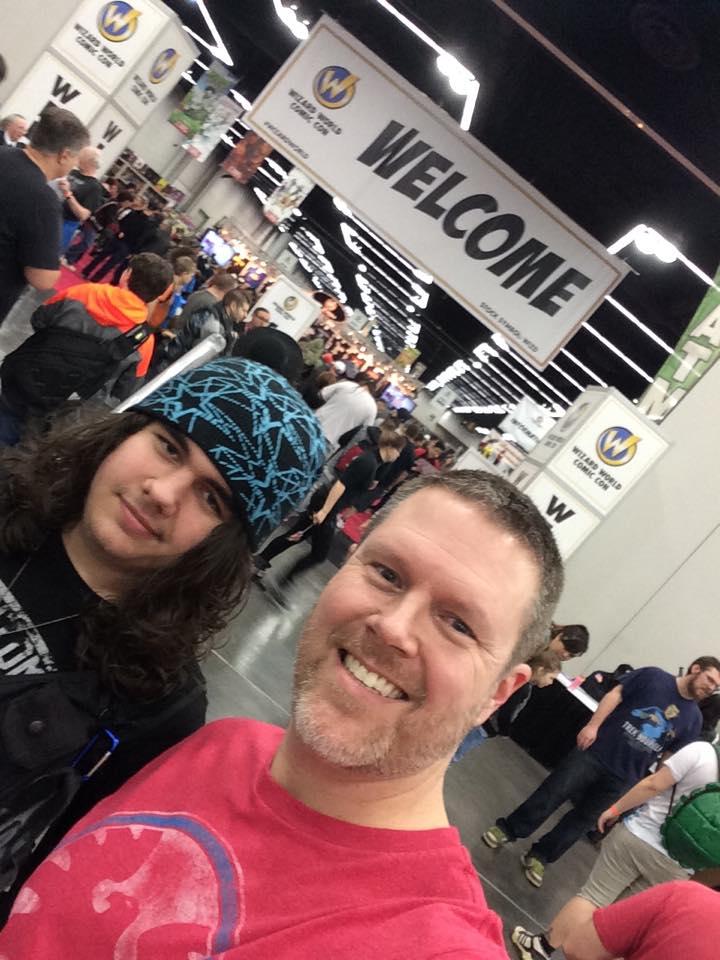 Scrapbooking meets the Portland Comic Con