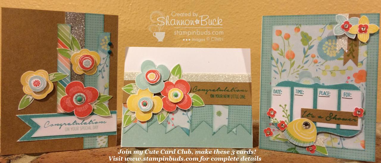 Cute Card Club CTMH April 2015