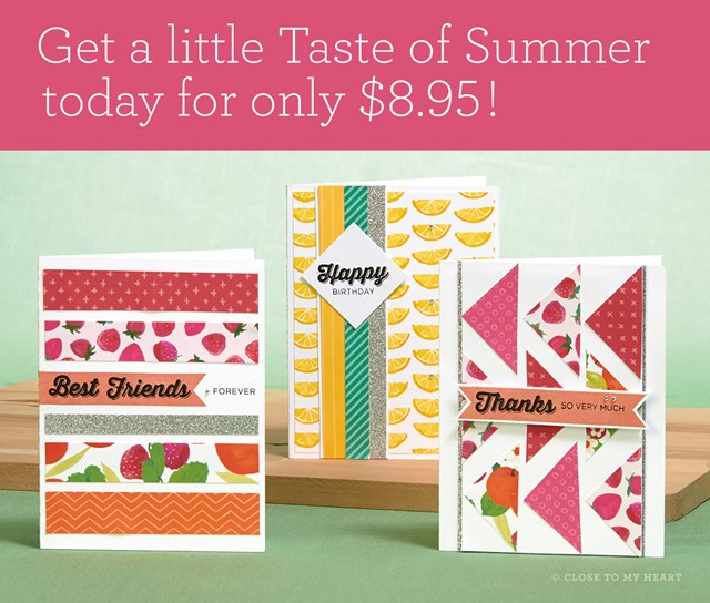 Get your Taste of Summer before it's gone!