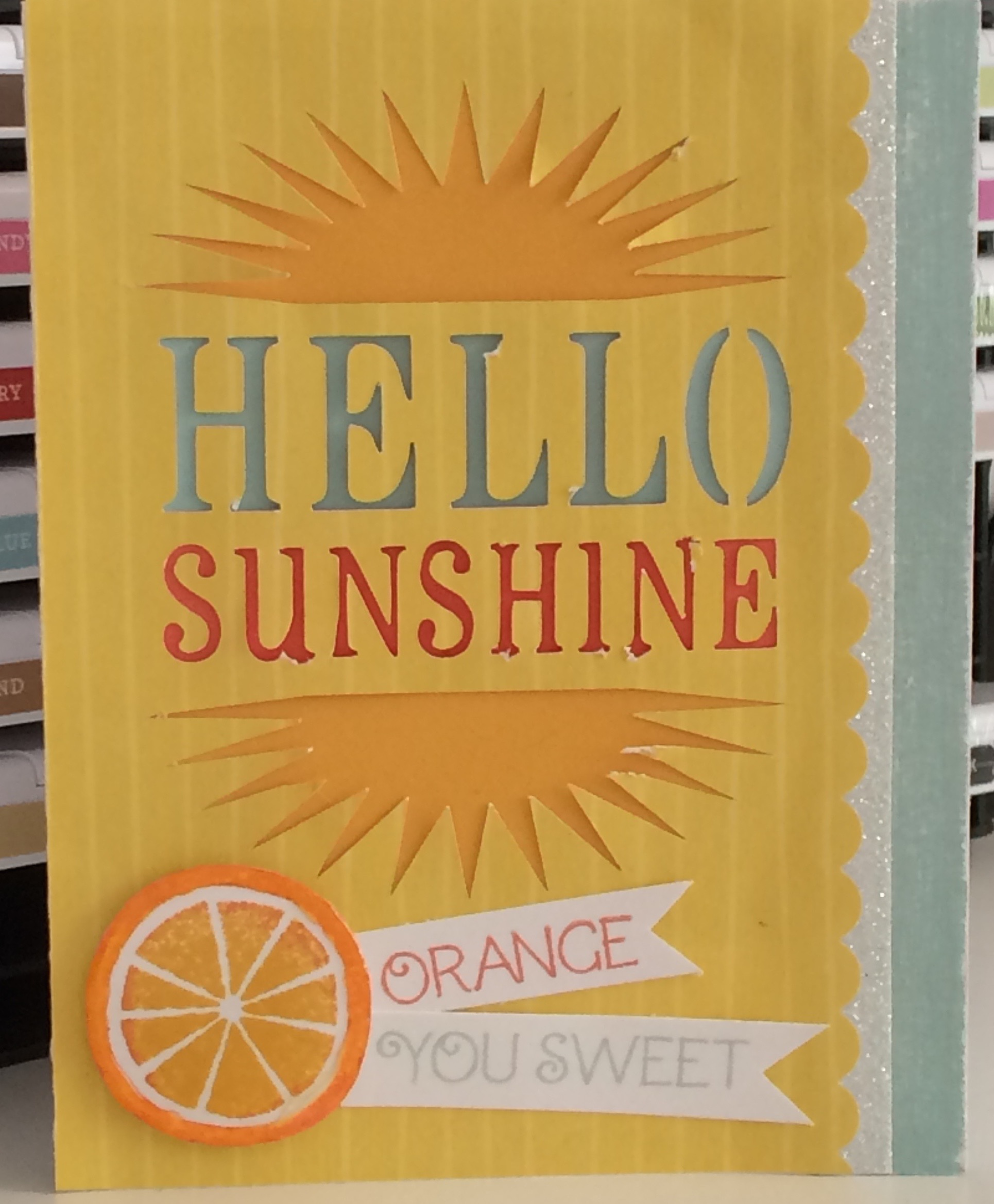 Hello Citrus Sunshine