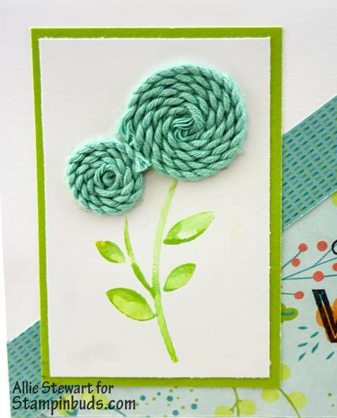 Twine Flower Card