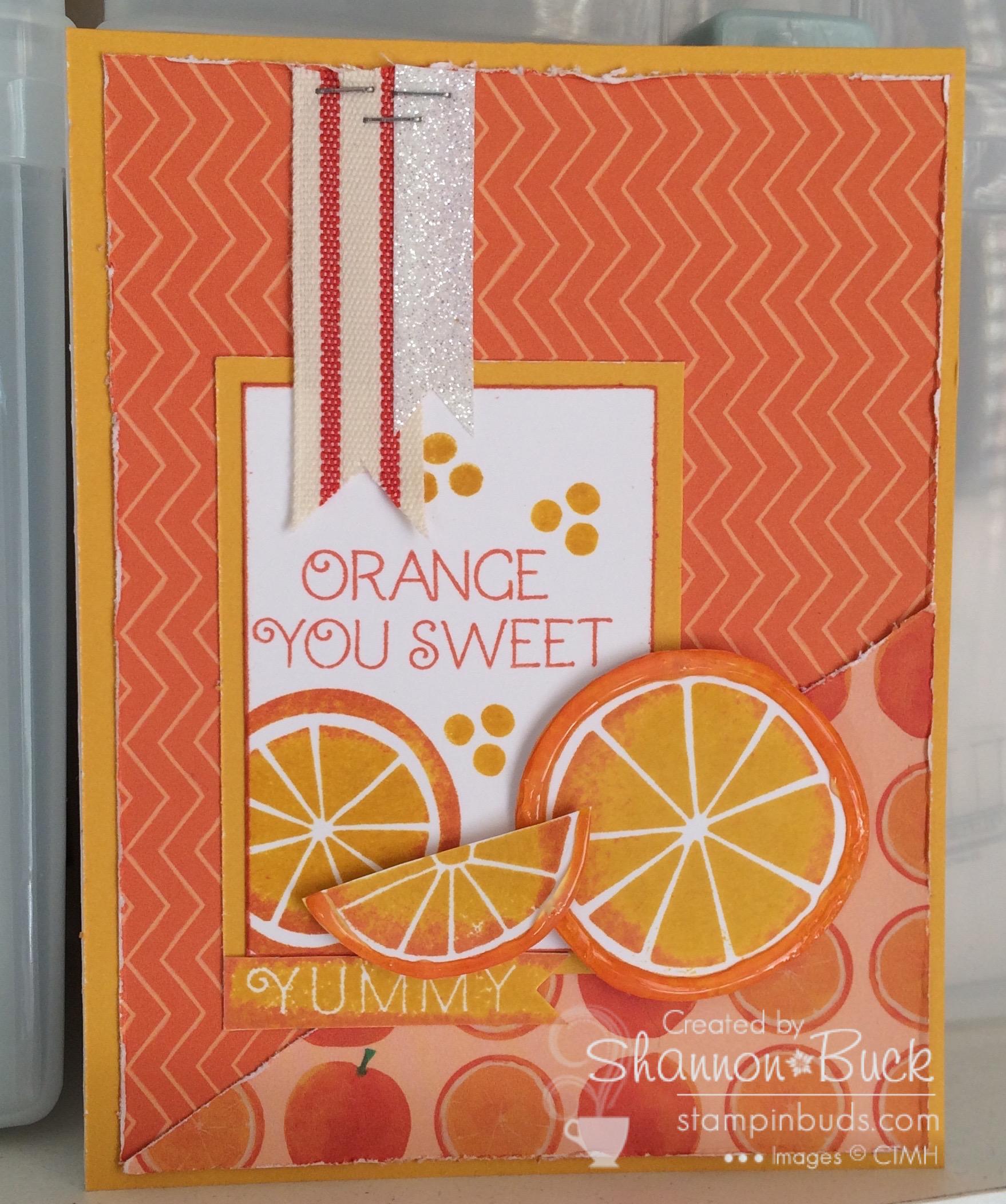 Mojo Monday:  Orange you Sweet