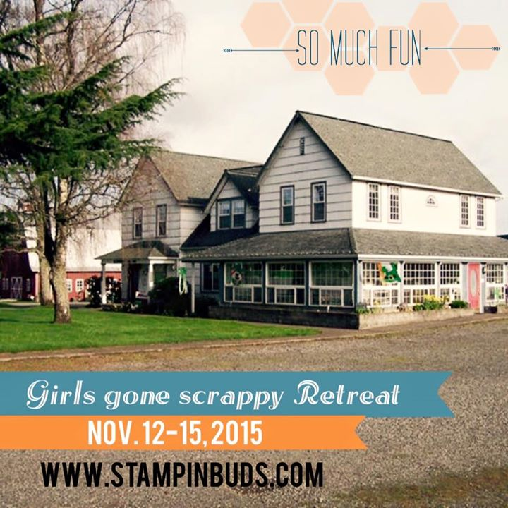 Announcing my next Girls Gone Scrappy Retreat!