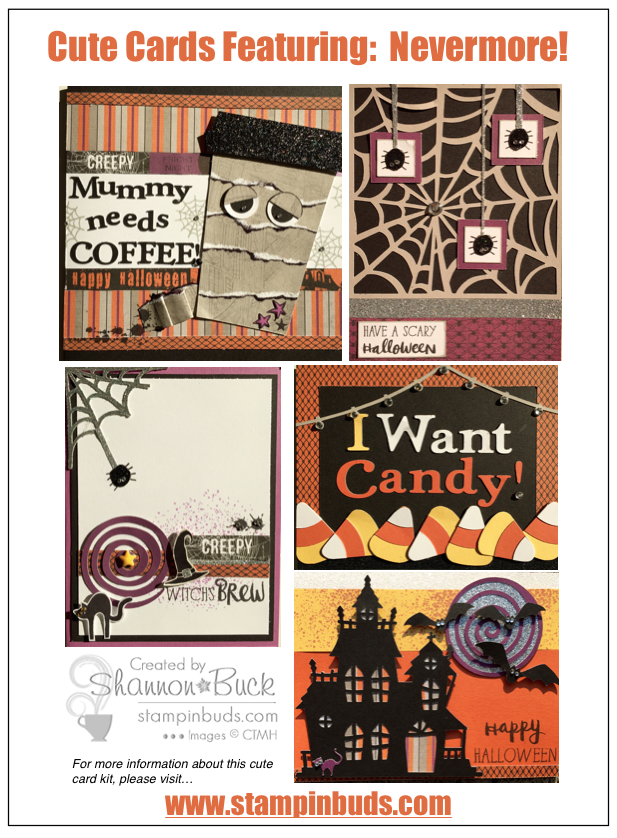 Cute Card Creations CTMH Nevermore