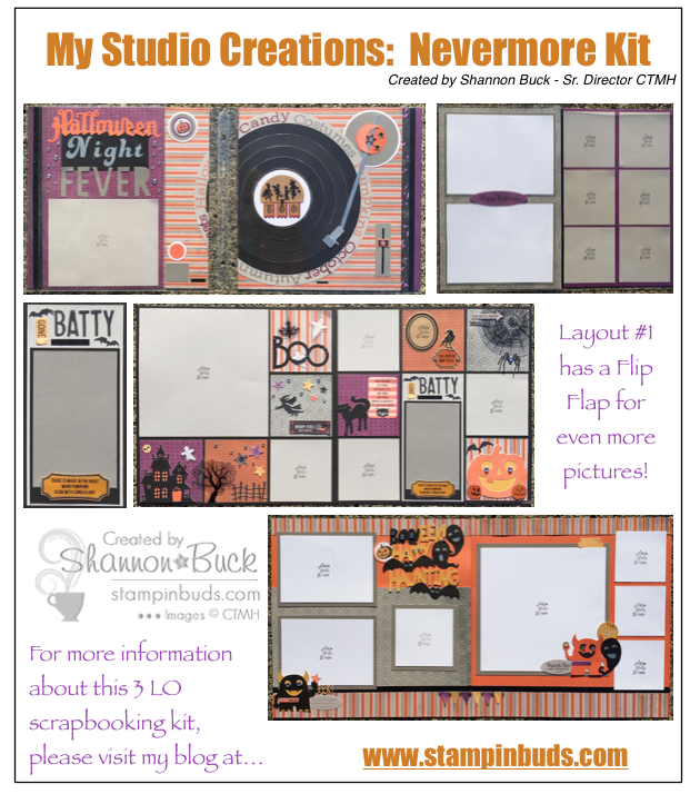 CTMH Nevermore Paper LO Kit