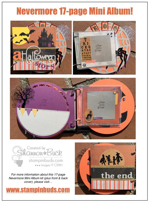 Stlampin' Buds Nevermore Mini Album Kit