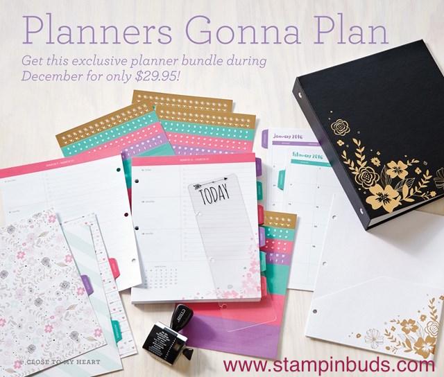 Planners Gonna Plan starting in December