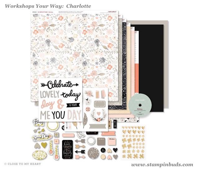 WYW Charlotte Scrapbooking Kit