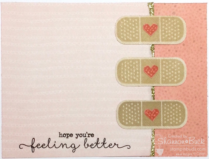 Kiss it Better Card by www.stampinbuds.com