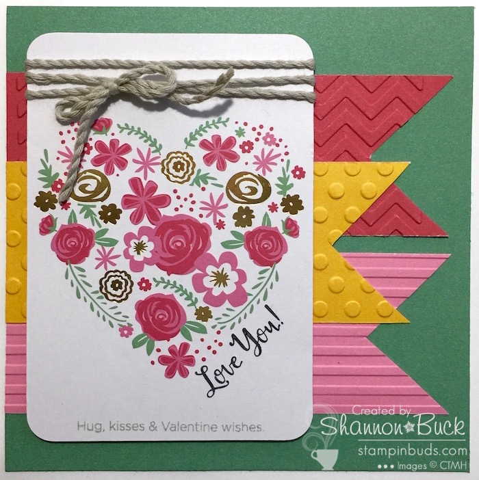 PML Handmade Love Card