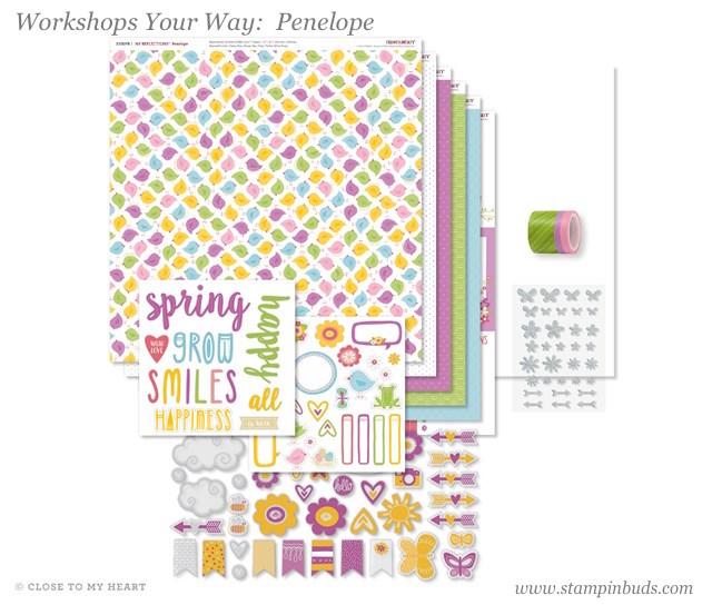 WYW Penelope Scrapbooking Kit