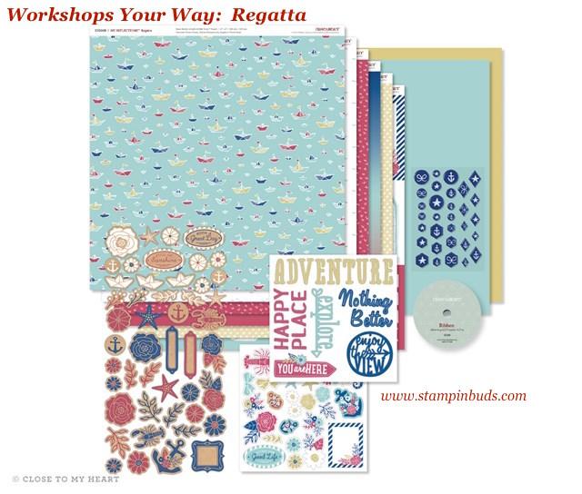 WYW Regatta Srapbooking Kit