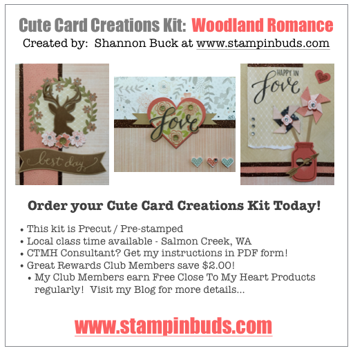 CCC Woodland Romance Cards - Charlotte