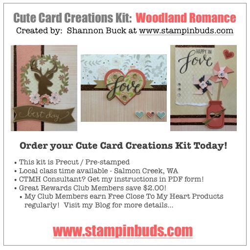 Woodland Romance Cards