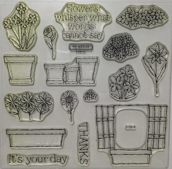 D1409 Flower Pot