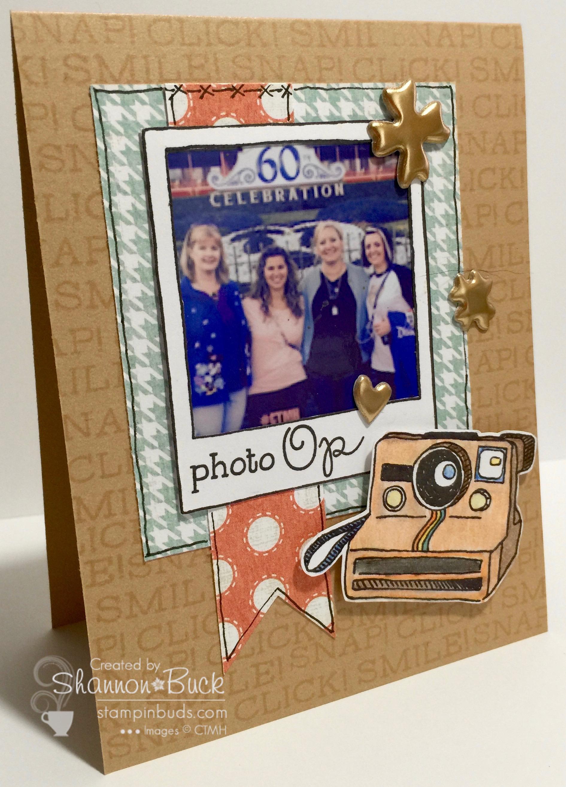 Photo Op Keepsake Card
