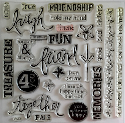 D1258 Friendship Word Puzzle