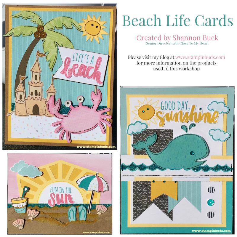 Beach Life Cards