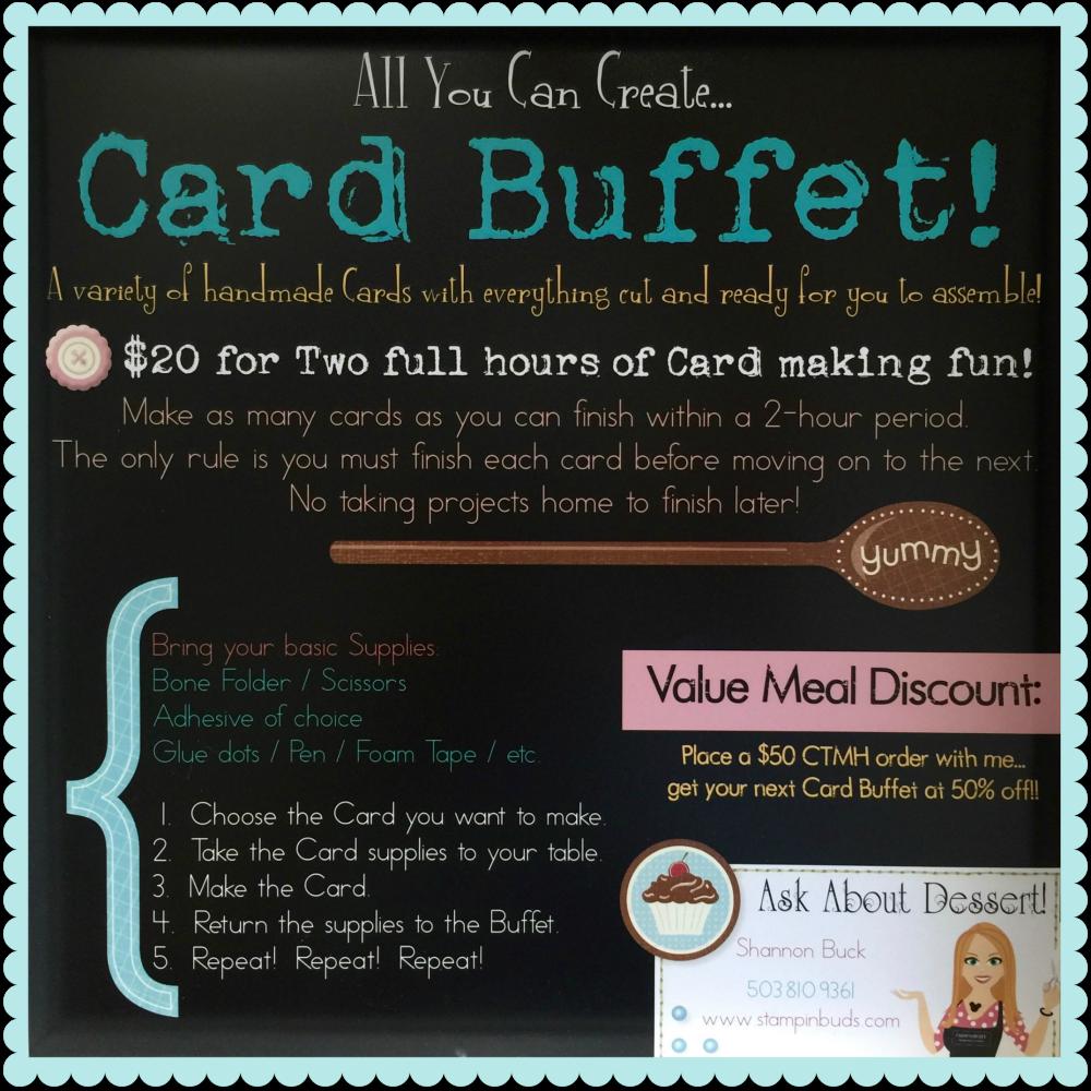 CTMH Card Buffet