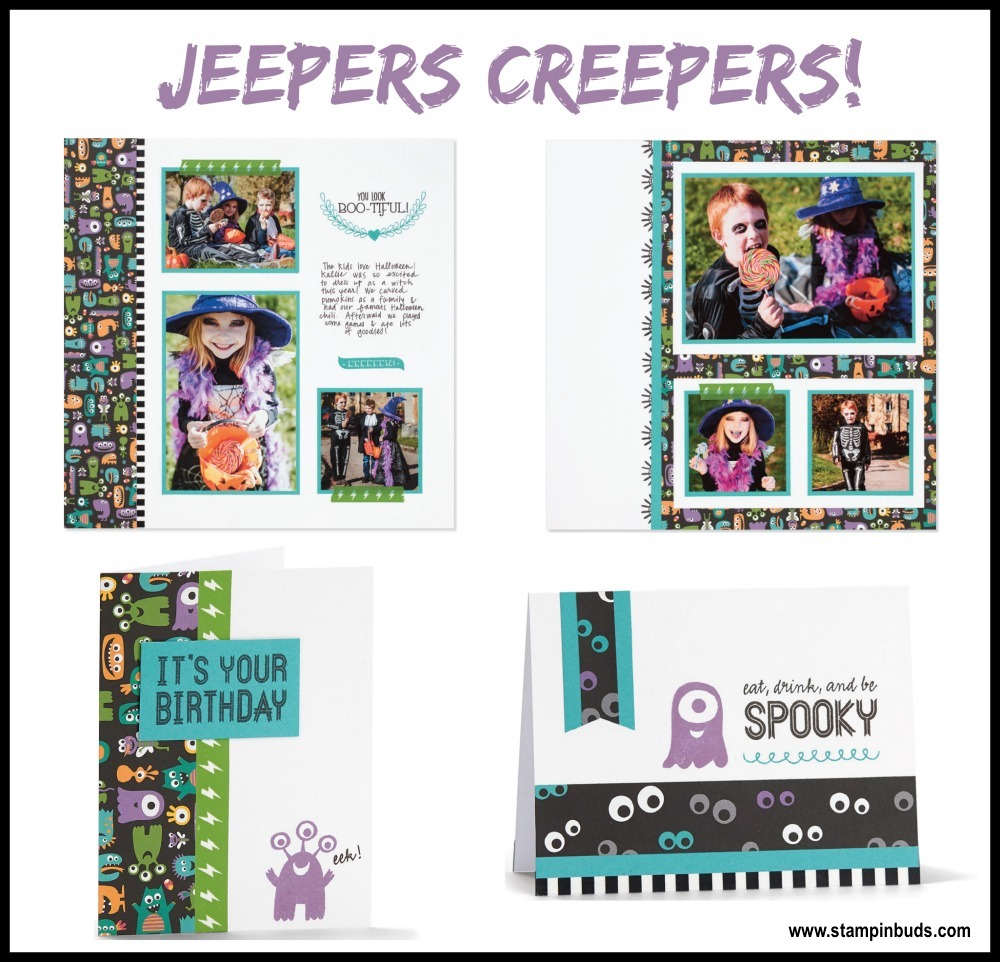 Tasty Template Tuesday:  Jeepers Creepers