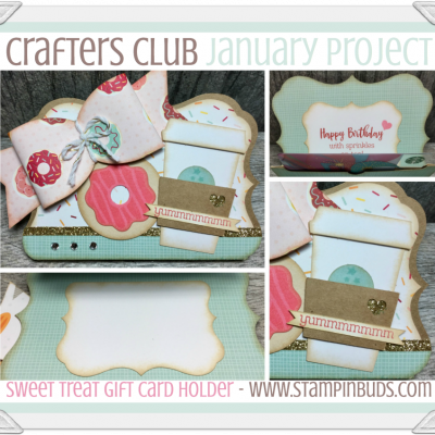 Crafters Club Project using Sugar Rush