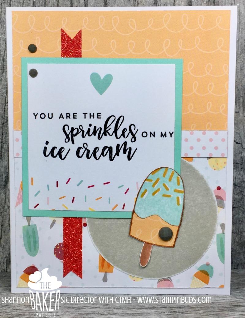 Ice Cream Card on Mojo Monday
