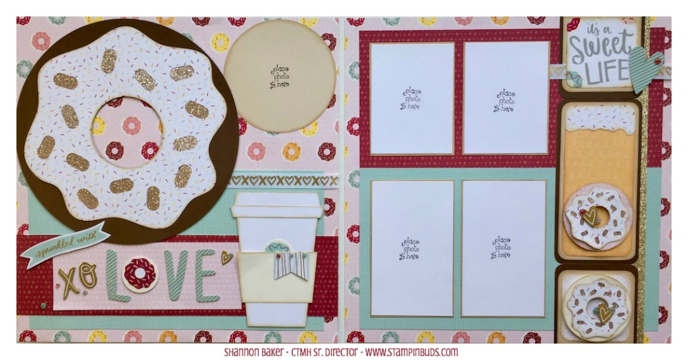 CTMH Sugar Rush Scrapbooking Kit