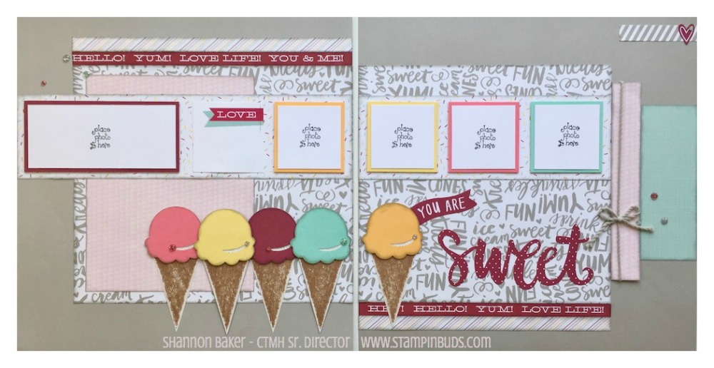 CTMH Sugar Rush Scrapbooking Kit #2
