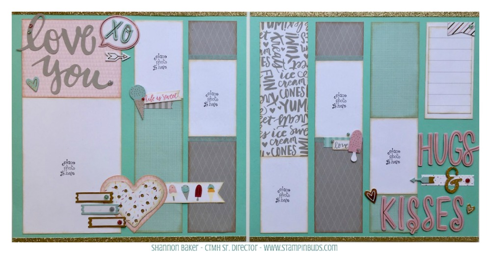 CTMH Sugar Rush Scrapbooking Kit #3