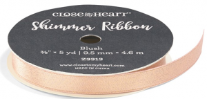 Blush Shimmer Ribbon