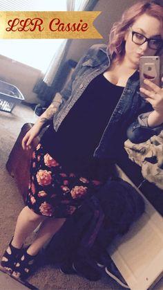 Becca wearing a LLR Cassie