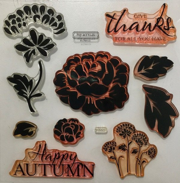 D1550 Happy Autumn Stamp Set by CTMH