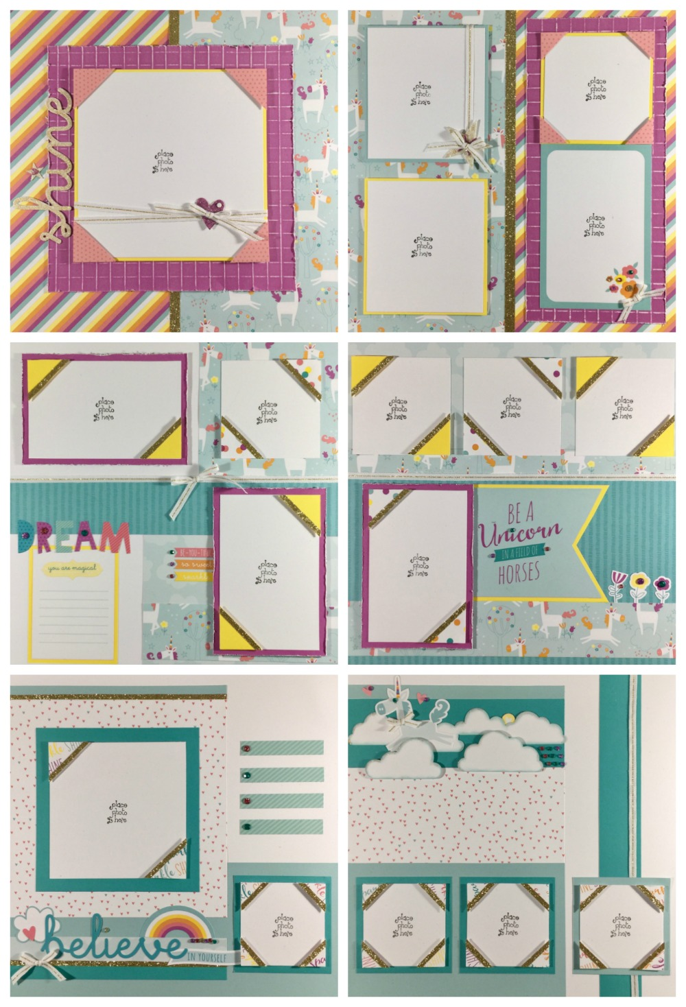 Little Dreamer Scrapbooking Kit
