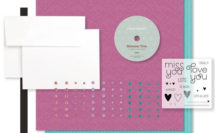 Miss You Cardmaking Kit