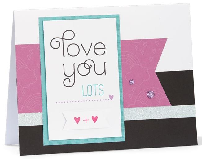 Miss You Cardmaking Kit - Card 2