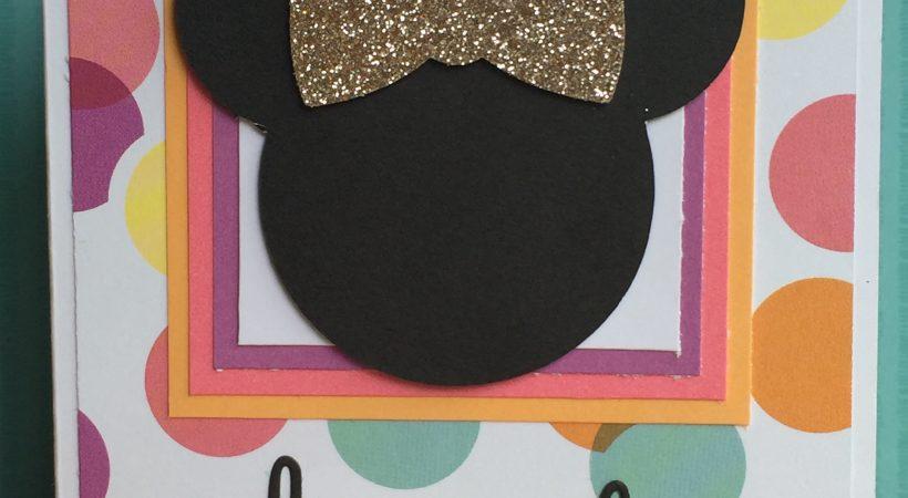 CTMH Minnie Mouse and LuLaRoe Card