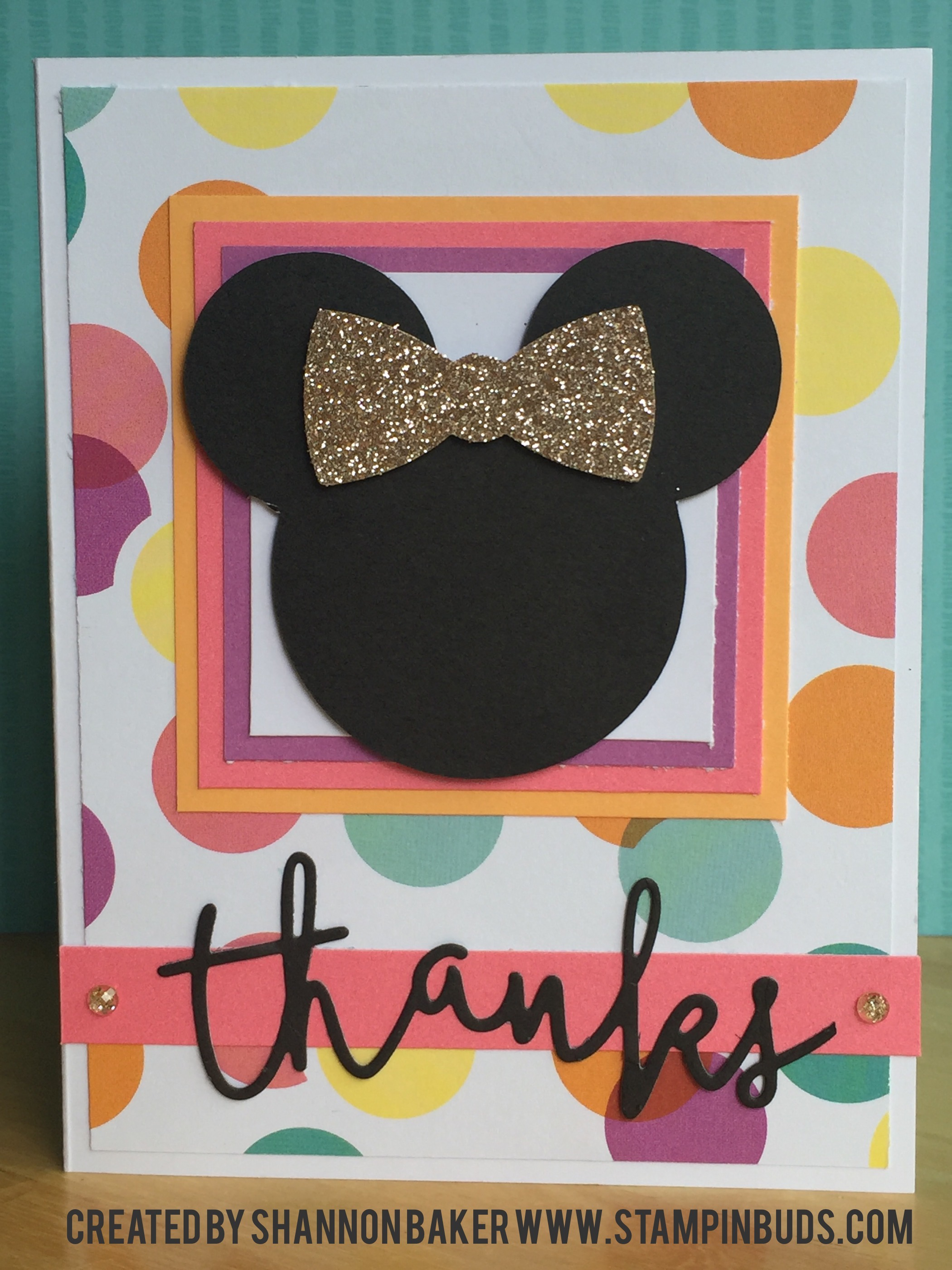 CTMH Minnie Mouse and LuLaRoe Card