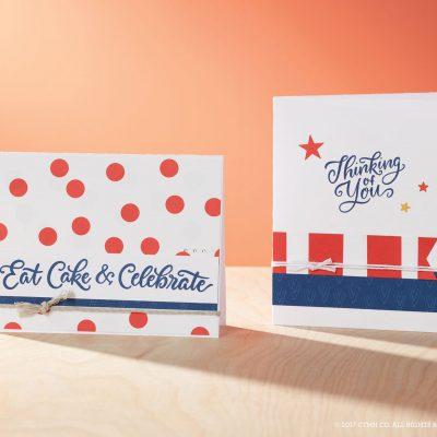 Enchantment Birthday & Sentiment Cards