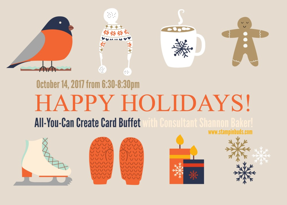 All-You-Can-Create Holiday Card Buffet