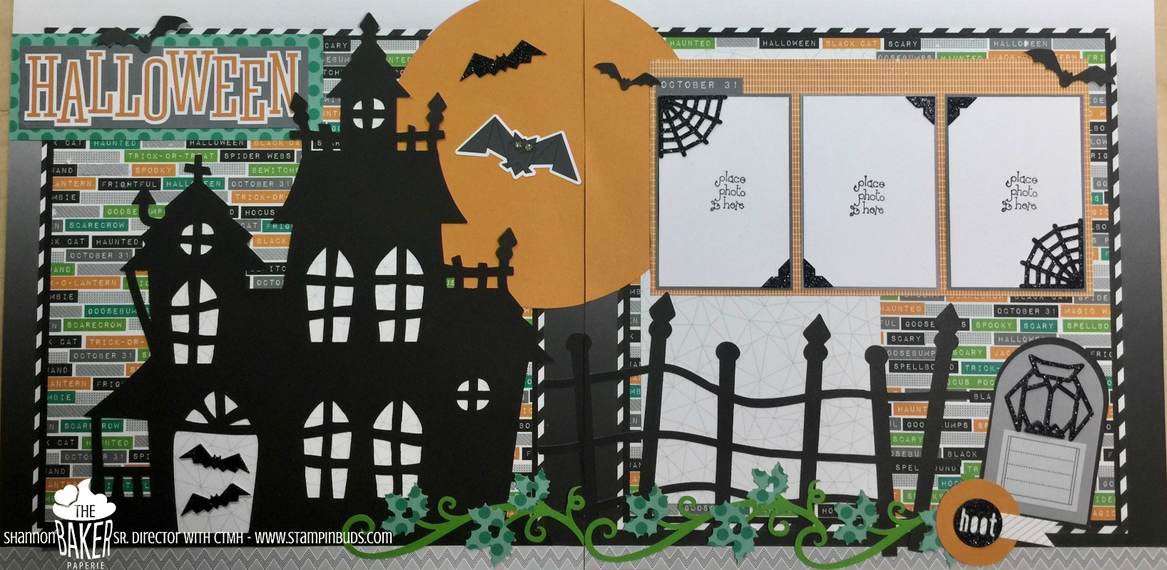 A popular Halloween layout gets a facelift