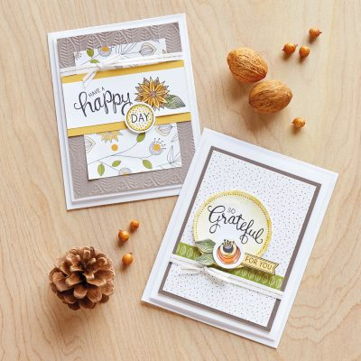 Watercolor Happy Day Card Kit